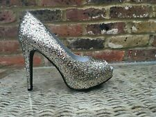 New RUBY PROM shoes MULTI SHIMMER uk 8 euro 41