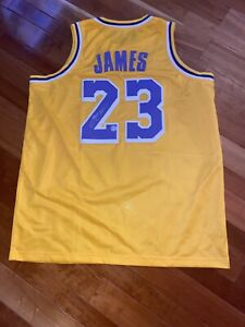 Lebron James Signed Autographed NBA Los Angeles Lakers Jersey with COA