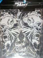 SUZUKI LTZ 400 Quad Adhesivo gráfico KIT WEST COAST Demon Negro ( SIN