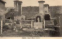 Postcards Italy Pompei Casa di Marco Lucrezio unposted B4326