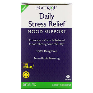 Daily Stress Relief, Time Release, 30 Tablets