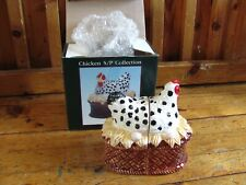 Chicken Salt And Pepper Shakers With Box