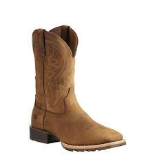 Ariat Men's US 9.5d Hybrid Rancher Western Work Boot Distressed Brown 10023175