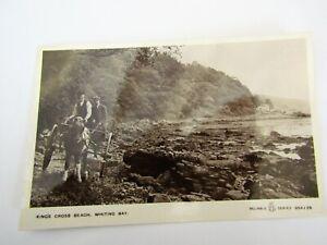 Whiting Bay King's Cross Beach - Old Isle of Arran Postcard