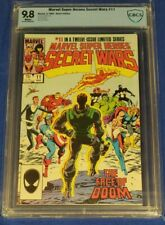 Marvel Super Heroes Secret Wars #11 CBCS 9.8 1985 white pages not cgc