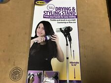 Hair Dryer Holder - Beauty Accessory - Hair Dryer & Styling Stand SHELFPULL