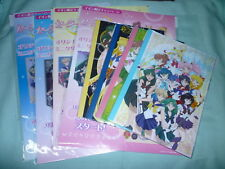 JAPAN Limited Sailor Moon Crystal LOT Complete Notebook x4 Mini File x4 (12 pcs)
