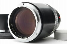 【AB Exc+】 Carl Zeiss Sonnar 135mm f/2.8 Lens Black for Contarex From JAPAN Y3549