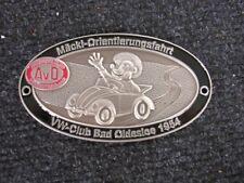 VW BUG BEETLE COX KÄFER HEB HEBMULLER KDF CAR CABRIO CONVERTIBLE NEW BADGE