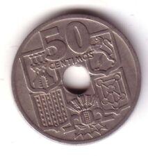 ESPAÑA 50 centimos 1949 *51* variante/error FLECHAS INVERTIDAS - ESTADO ESPAÑOL