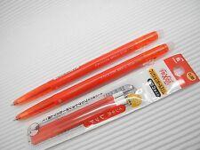 (2 pens+ 3 refills) PILOT FRIXION ERASER ball slim 0.38mm roller ball pen, Red