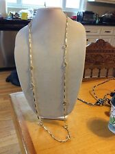 $39.99 Ann Taylor Extra Long Gold Necklace 116