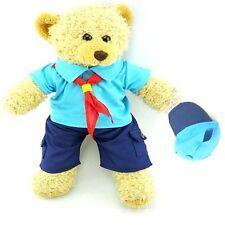 Teddy Bear Clothes fits Build a Bear Teddies Beaver Style Uniform & Cap Clothing