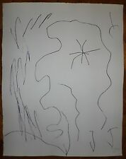 Miro Joan gravure originale signée 1975 art abstrait abstraction surréaliste