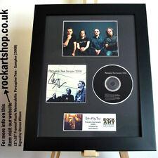 More details for porcupine tree signed steve wilson autographed framed world ship