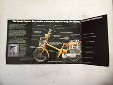 Original Honda NC 50 NC50 Express Pamplet Advertisement Brochure NOT A REPRINT
