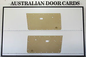 Chrysler Valiant VE VF VG Door Cards Ute, Sedan, Wagon. Blank Trim Panels
