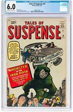 Tales of Suspense #31 (Jul 1962, Marvel Comics) CGC 6.0 FN | Iron Mask