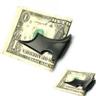 Utility Mens Stainless Steel Batwing Bat Slim ID Cash Money Clip Holder Magnetic