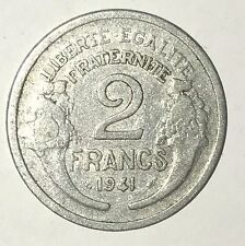 Pièce Ancienne - 2 Francs Morlon 1941 - Ancient French 2 francs coin