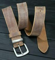 Leather belt mens, Vintage FULL GRAIN Heavy Duty Jeans belt Handmade 40mm, Live