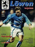 BL 97/98 1860 München - 1. FC Köln, 19.11.1997, Paul Agostino