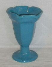 """HF Coors Parfait Sundae Custard Dish Bowl Restaurant Diner Ware Blue 5.75"""""""