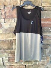 Trunks Surf & Swim Co Muscle Tank Shirt Color Block Gray Black Size L New Upf 50