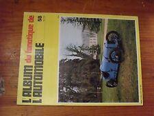 $$$ Revue Fanatique Automobile Fanauto N°58 Alvis 6 cylMonet Goyon Cyclecar