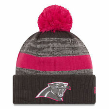 Era Carolina Panthers NFL 16 BCA Knit Pom Beanie Breast Cancer Awareness de033b013
