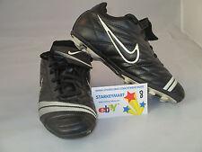 #24 Nike Soccer shoes cleats Black white Youth Us 3.5 Uk 3 Euro 36.5
