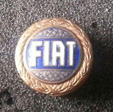 Fiat Spilla blu smaltato 15mm timbrato Lorioli Milano vecchio+ originale