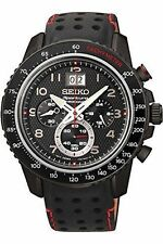 Stainless Steel Case Watches with Chronograph Seiko Sportura