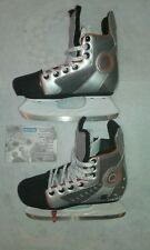 Patin a glace hockey oxelo réglable 35/38 + Protections genou coude poignet KID