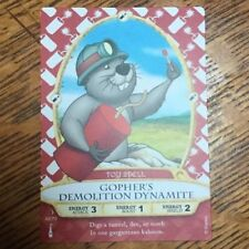 Sorcerers Of The Magic Kingdom Gopher's Demolition Dynamite Toy Spell Card