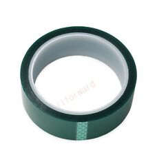 30mm x 100ft Green PET Tape High Temperature Heat Resistant PCB Soldering Shield