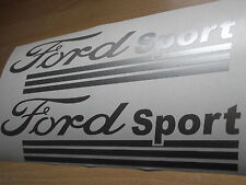 Ford sport vinyle stickers voiture x2