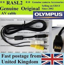 Genuine Olympus AV cable Tough TG-1 TG-2 TG-620 E-M1 E-M5 E-P5 E-PM2 SH-25MR
