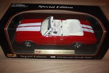 1972 Chevrolet Chevelle SS454 Convertible 1:18 Style Diecast Metal Maisto Red
