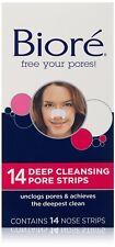 Tiras Faciales Limpieza Profunda Para Remover Puntos Negros Y Grasa, 14 Tiras