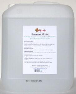 10 Liter Meister Klarspüler für Geschirrspülmaschinen *kostenloser Versand*