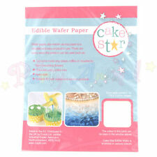 Cake Star - Edible Rice / Wafer Paper - Perfect for cake decoration and projects