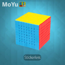 MYMF MF8 8x8x8 Speed Magic Cube Professional Twist Puzzle Funny Toys Multi-Color