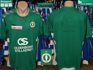 Akademisk Boldklub Gladsaxe Hummel 2020/2021 Signed Jersey Shirt Trikot Denmark