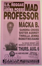 MAD PROFESSOR ARIWA POSSE, MACKA B, SANDRA, AUDREY, JENNA, ROBOTIKS Slim's 1987
