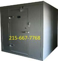 "NEW Amerikooler 9 x 10 x 7'7"" Indoor Walk-In Cooler w/ Floor - MADE IN THE USA!"