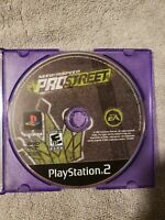 Sony PlayStation 2 PS2 Disc Only Tested Need for Speed Prostreet TESTED WORKING