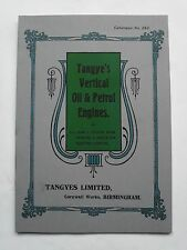 Tangyes Vertical Oil & Petrol Engine Catalogue