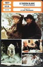 LE BISON BLANC - Bronson,Novak,Carradine (Fiche Cinéma) 1977 - The White Buffalo