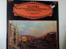 LP HANDEL music for the royal fireworks suite Stokowski